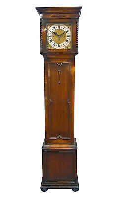 Rare Musical Grandmother Longcase Clock Deadbeat Whittington W & H Good Quality