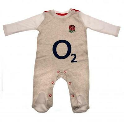 England Rugby RFU Babygrow Sleepsuit Romper  0-3 to 12-18 Months