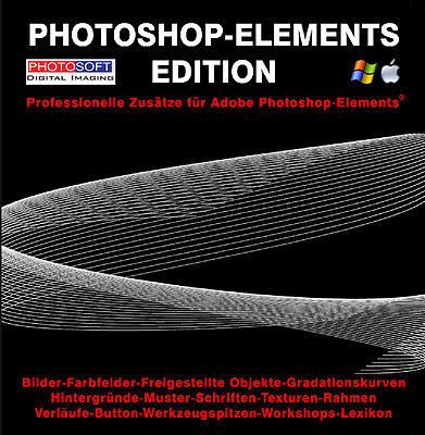 Profi-Zusätze Adobe Photoshop Elements 11 12 13 14 15 2018 2019 Plugins Bilder