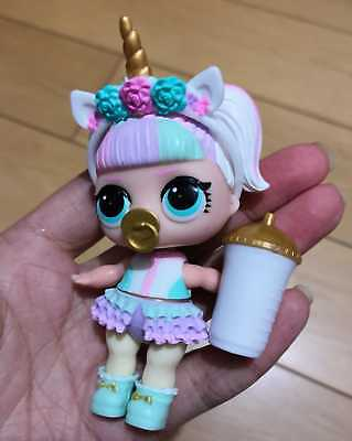 NO BALL Rare Genuine LOL Surprise Dolls Series 3 UNICORN without Headwear