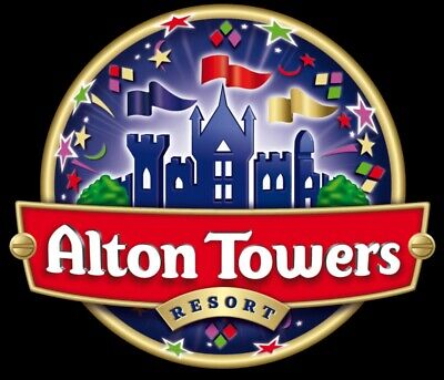 2 x Alton Towers Tickets for Friday 19th July 2019