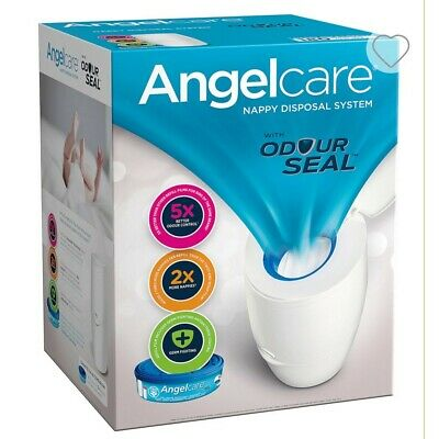 Angelcare Baby Nappy Disposal System Bin 1 Refill Cassette