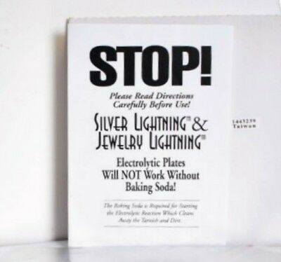 Silver & Jewellery Lightning Electrolytic 8 piece Tarnish Cleaning Plate