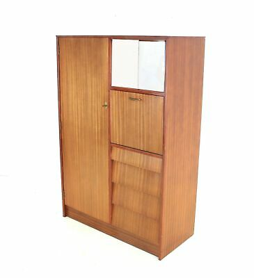 Vintage Teak Danish Influence Gentleman Wardrobe By Avalon
