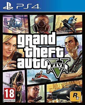 GTA V - Grand Theft Auto 5  (PS4) - Brand New  Sealed Official PAL