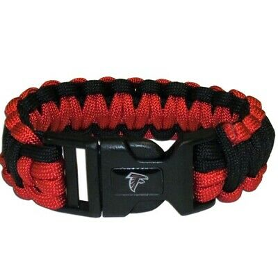 Atlanta Falcons Paracord Survival Bracelet Sport Jewelry Strap NFL Football Team