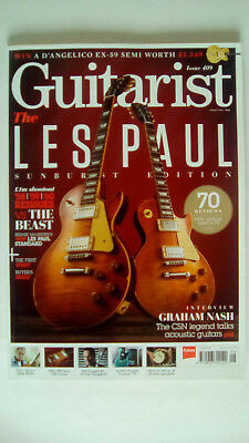 Guitarist Magazine Issue 409 August 2016