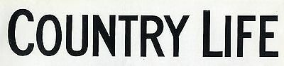 1962 COUNTRY LIFE Magazine CAROLA HARVEY WILLIAMS Prideaux Place Padstow (7833)