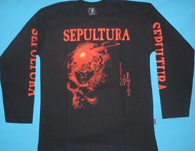 Sepultura - Beneath the Remains T-shirt Long Sleeve Size L