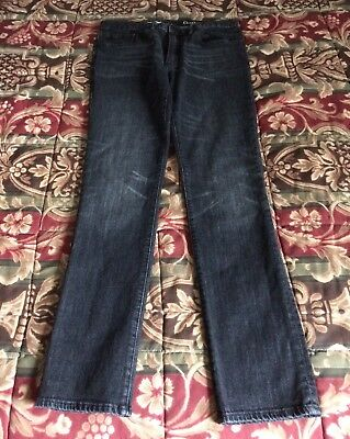 Men's Gap Skinny Black Jeans (Size: 32x32)
