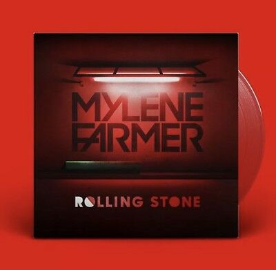 MYLENE FARMER VINYLE Rouge MAXI 33t. ROLLING STONE Red EDITION NEUF SOUS BLISTER