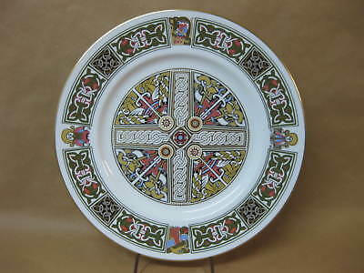 Spode The Viking Plate ~ Cabinet / Collector Plate ~ English Bone China