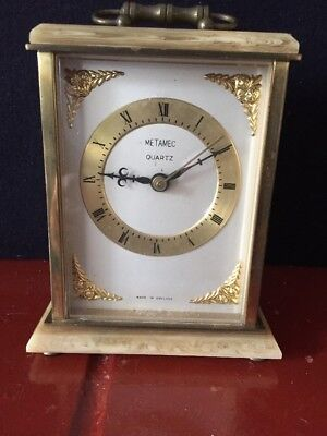 Metamatic Marble Carriage Clock
