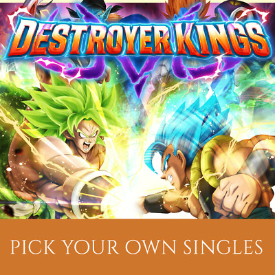 DESTROYER KINGS C/UC/R Cards - Dragon Ball Super Card Game Singles