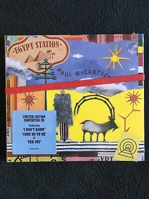 Egypt Station by Paul McCartney (CD) Limited Edition Album Disc Brand New SEALED
