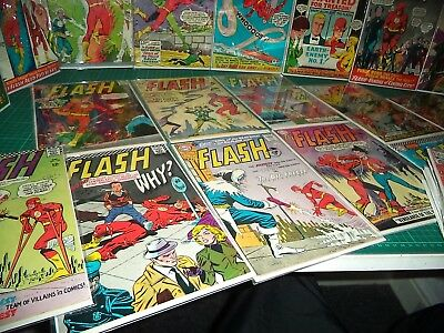 The FLASH - Silver Age Comic Collection - 35 Books - DC Comics
