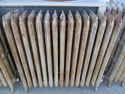 1 Victorian Ornate Cast Iron Steam Heat Register Antique Radiator Kewanee
