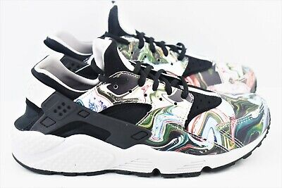e8c06a9474d4 Womens Nike Air Huarache Run Premium PRM Size 8.5 Shoes 683818 017 Marble  Dye