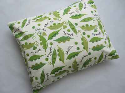 The Perfect Toddler Pillow Green SWEET PEA Flannel First Travel Gift Bedding