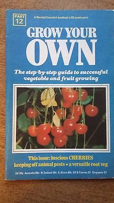 Grow Your Own Fruit CHERRIES  Seeds Marshall Cavendish Handbook Part 12