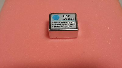 New ultra precision, high quality UCT 10 Mhz Double Oven OCXO crystal oscillator