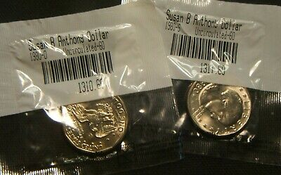 1979-S  SUSAN B ANTHONY  DOLLAR~~MS-BU UNC~~LITTLETON PACKAGING~~FILLED S