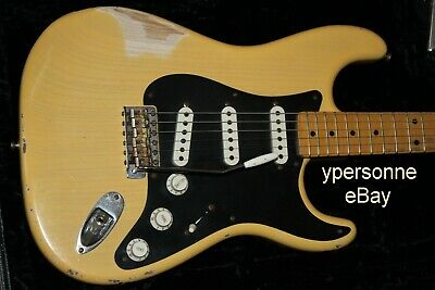 Fender Stratocaster Custom Shop Limited Edition Namm 2007 Relic Butterscotch !