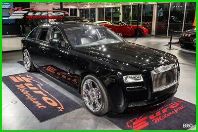 2011 Rolls-Royce Ghost  BLACK OVER BLACK HIDES BLACK PIANO WOOD WELL EQUIPPED!