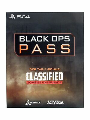 Call of Duty: Black Ops 4 - Black Ops Pass - Season Pass für Sony Playstation 4