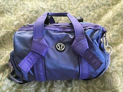 31231db1bd LULULEMON DTB PURPLE Mini Duffle Gym Yoga Workout Bag-VERY NICE ...