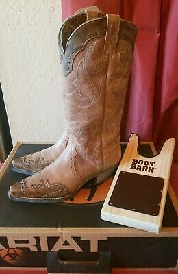 835d596f941b3 ARIAT 9M HERITAGE Western J Toe Wingtip Embroided Leather Cowboy ...