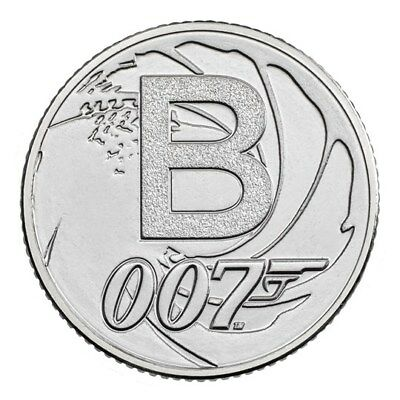 JAMES BOND 007 10p - BUNC. UNCIRCULATED!  ALPHABET 2018 A-Z  COIN HUNT LETTER B