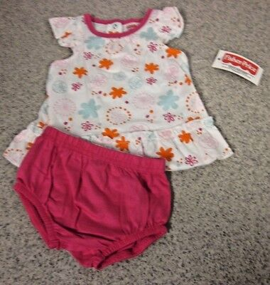 2pc NWT FISHER-PRICE Girls Sleeveless Outfits