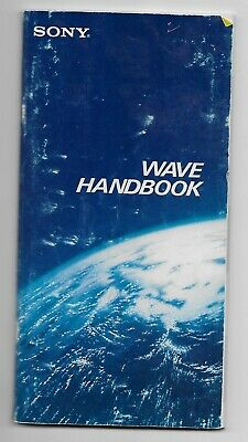 Vintage SONY WAVE HANDBOOK ~ Short Wave Stations of the World! Aug 1986 ~ 120pp