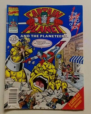 Captain Planet and The Planeteers, UK Holiday Special, 1992. Rare!