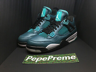 on sale 9c6c9 68e18 Nike Air Jordan 4 Retro 30TH Anniversary Teal 2015 Men s Size 13 705331 330