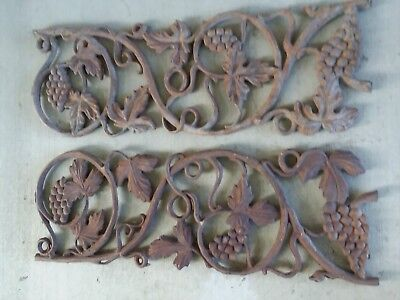 Antique Cast Iron Decorative Window Guards, yard art OR Doggy Doors......