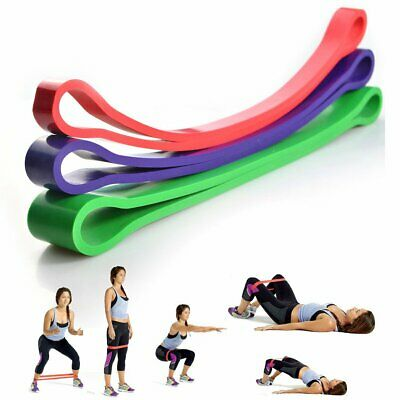 Resistance Exercise Loop Bands Home Gym Fitness Natural Latex Yoga Stretch Tube