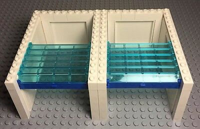 Lego City Train  Building Garage Door Complete Assembly With Side Panels//walls