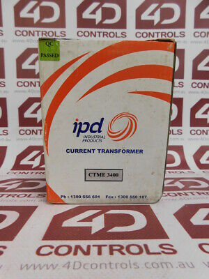 IPD CTME 3400 Current Transformer Class 1 10VA - New