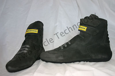 Grey Go Kart, Car Racing  Shoes, Fireproof Boots