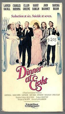 Dinner at Eight (VHS)~EX-RENTAL~RARE&HTF!~TAPE PLAYS GREAT + FREE SHIPPING!!!!!!