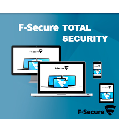 F-Secure  Total Security & Privacy 2020 3 Appareils 1 An 2019 FR