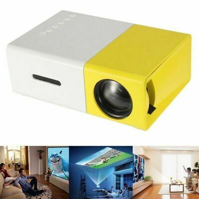 2019 New Mini Pocket LED Home Cinema Projector HD 1080P Portable Cinema HDMI USB