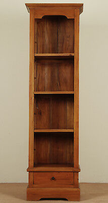 Small OPENFRONT LIBRARY bookcase mahogany solid wood 82001