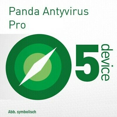 PANDA Antivirus Pro/DOME Essential  2019 5 PC 1 An   2018 FR