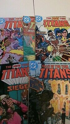 The New Teen Titans x14 issues lot. DC Comics 1983