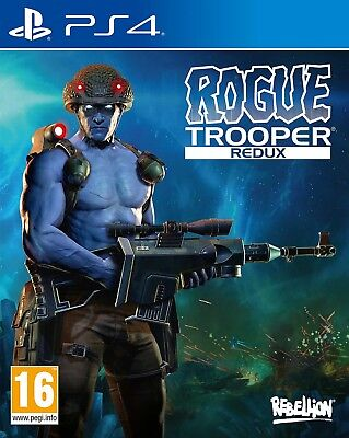 Rogue Trooper Redux (PS4)  BRAND NEW AND SEALED - IN STOCK - QUICK DISPATCH