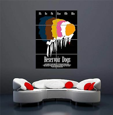 Quentin Tarantino Movies Reservoir Dogs Set Giant New Art Print Poster Oz564