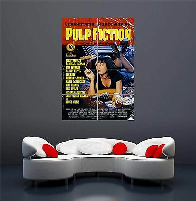 Quentin Tarantino Movies Pulp Fiction Set 1 Giant New Art Print Poster Oz563